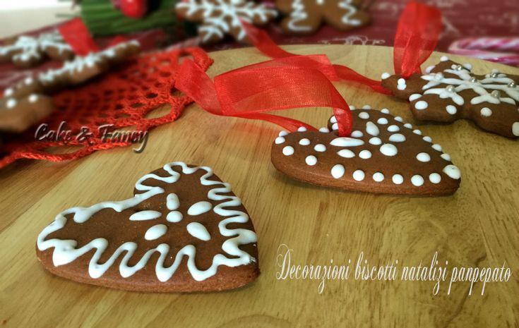 Biscotti natalizi panpepato decorazioni albero