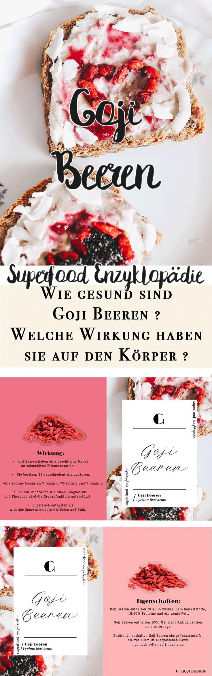 Vanillaholica | Superfood Enzyklopädie // G wie Goji Beeren. | http://www.vanillaholica.com