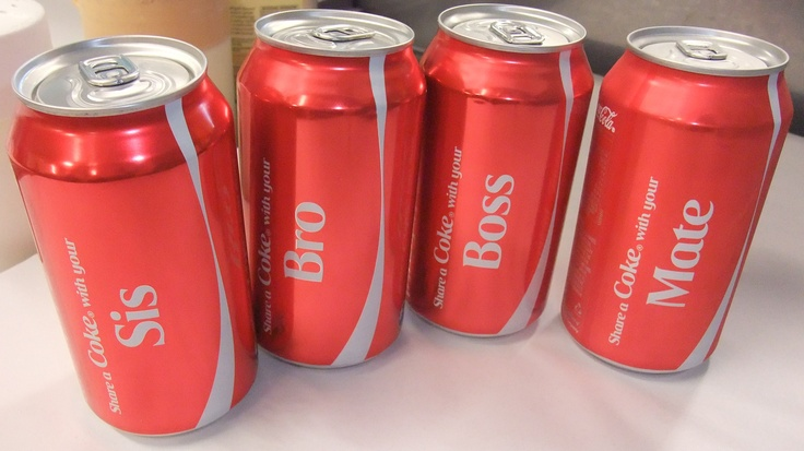 Share a can of Coke with a ...