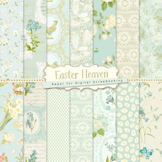 Far Far Hill: New Freebies Kit of Backgrounds - Smiling Spring
