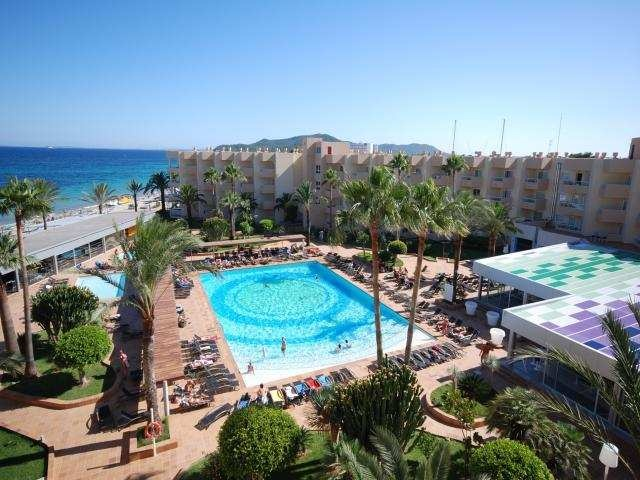 A breath taking view of the Hotel Garbi