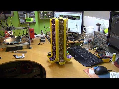 3D Printing (Dolce Gusto Capsule holder) - YouTube