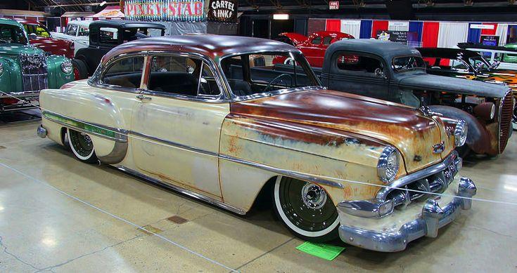 "1954 Chevrolet With 18"" Steelies (Jimenez Bros Customs ..."