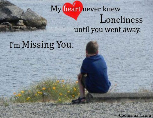 Quotes About Feeling Alone | Loneliness Quotes, Sayings about feeling lonely - Page 3 - CoolNSmart
