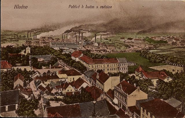 A view from the town hall tower, Kladno CZ