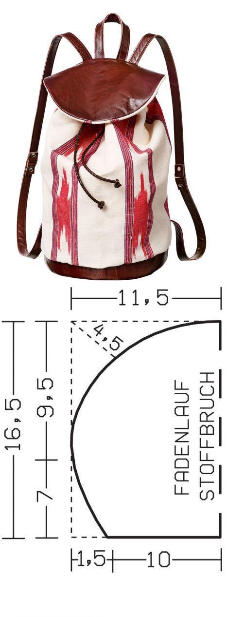 Рюкзак в восточном стиле / Мастер-классы / Burdastyle