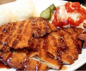 Korean Food | Donkatsu | Breaded Pork Chops