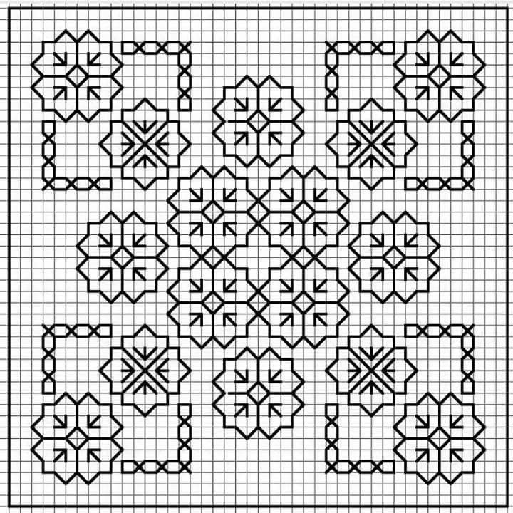 47 best Embroidery designs images on Pinterest Embroidery, Black - cross stitch graph paper