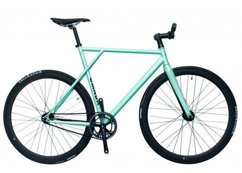 Santa Fixie. Koop nu de Cmndr Mercury van Polo and Bike in het groen!