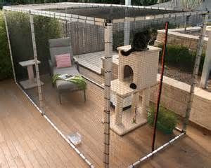 Cat Stuff Cat Enclosures, your freestanding cat containment solution ...