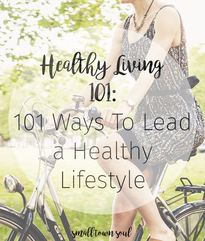 Living a healthy lifestyle seems difficult, but we've got 101 tips, tricks, recipes, apps, and products to get you started on your healthy journey!