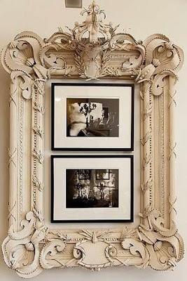 cardboard picture frame