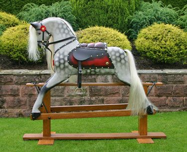 best 25 rocking horses for sale ideas on pinterest antique rocking horse wooden wheel and. Black Bedroom Furniture Sets. Home Design Ideas