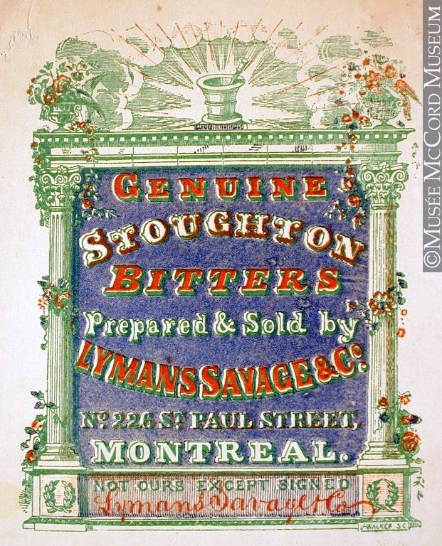 Advert for Stoughton's Bitters