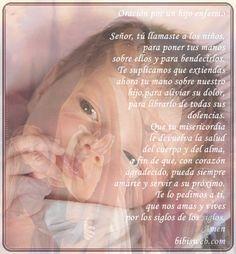 Oracion por un hijo enfermo