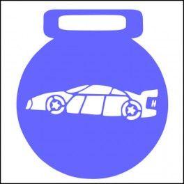 Categoría: Stencils Para Galletas - Producto: Stencil Para Galletas 7Cm-Auto Deportivo-C018 - Envase: Unidad - Presentación: X Unid.