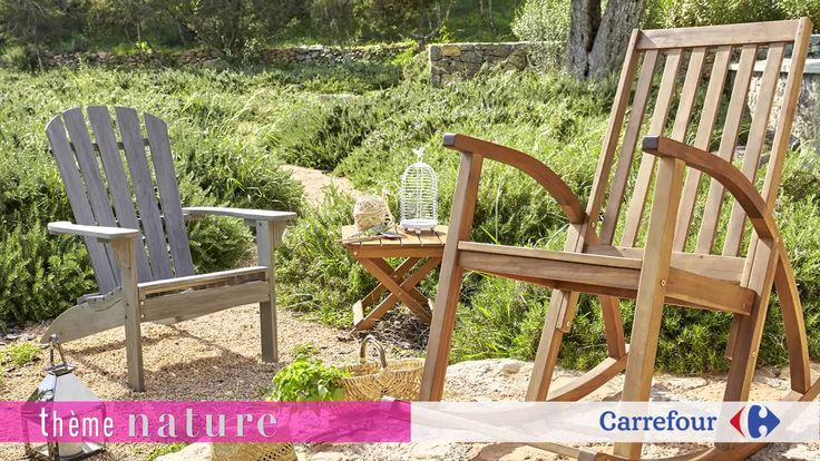 17 best images about ambiances jardin terrasse balcons - Meuble de jardin carrefour ...