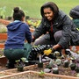 First lady Michelle Obama is expanding her Let's Move campaign way beyond the White House garden.