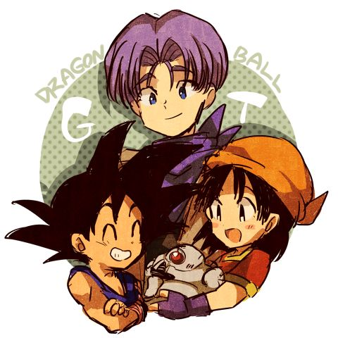 Image result for kid goku and pan pinterest