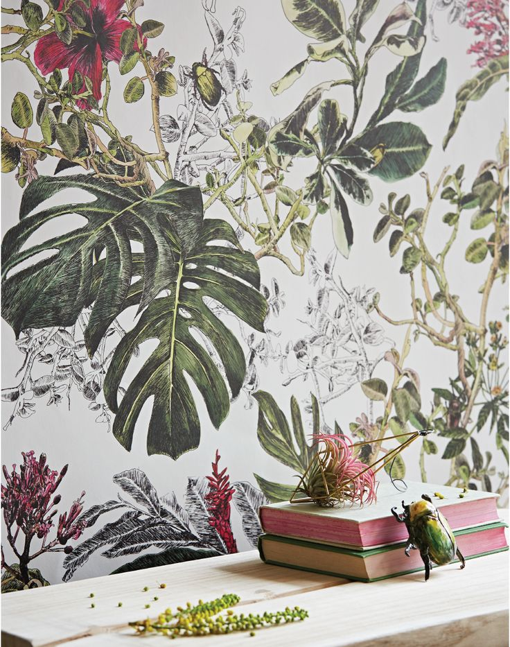 25 best ideas about british colonial style on pinterest for Colonial mural wallpaper