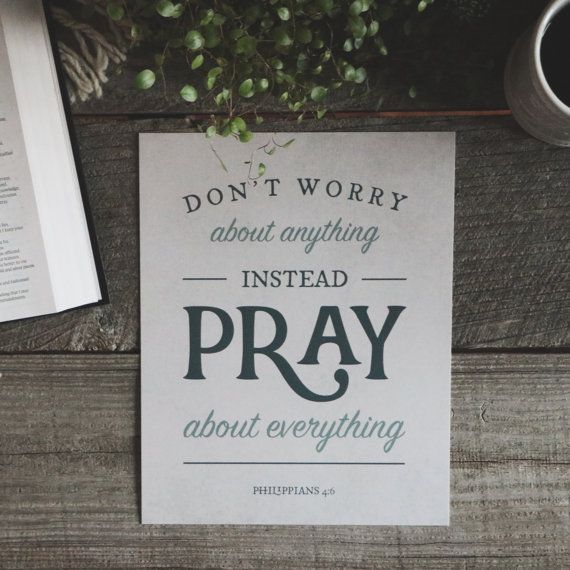 Don T Worry About Tomorrow Bible Quote: 1000+ Ideas About Bible Verses About Worry On Pinterest