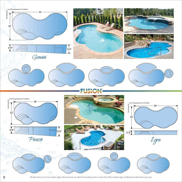 Trilogy Fiberglass Swimming Pool Products - Online Brochures