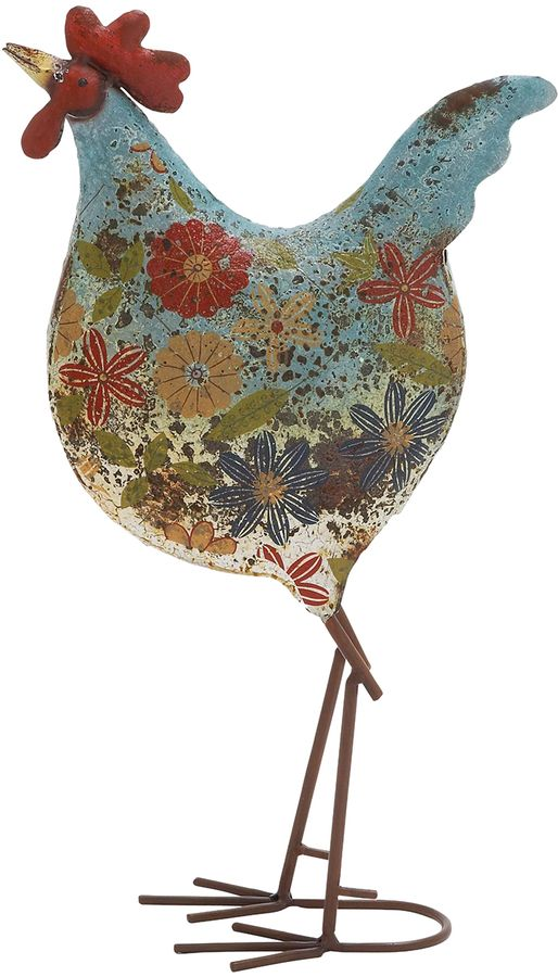Rooster - this would be cute as embroidery!
