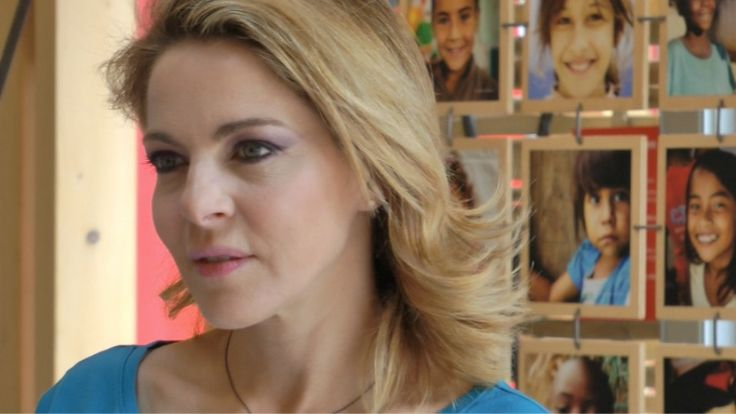 Claudia Gerini #claudiagerini #raiexpo #expo2015 #cinema #star #movies #milan #italy #actor