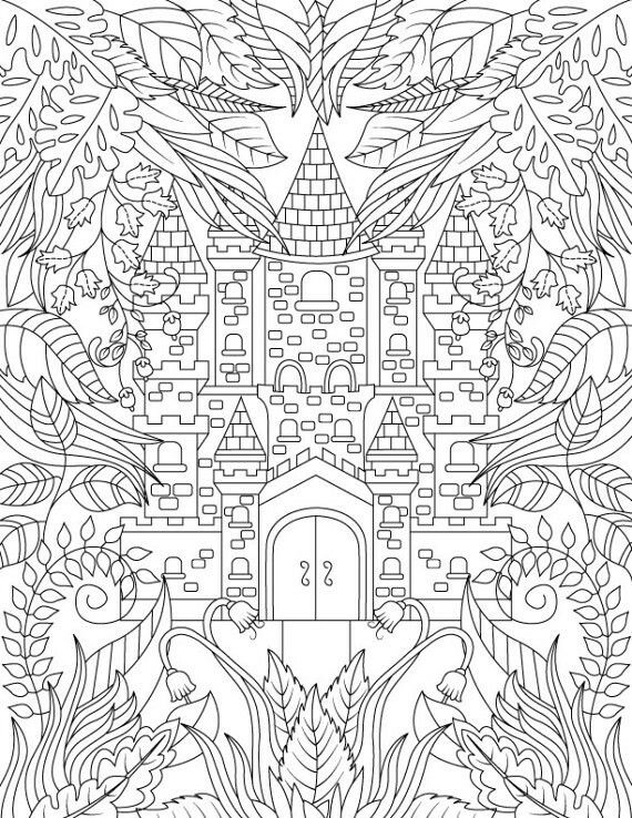 199 best ausmalbilder images on Pinterest | Coloring pages, Adult ...