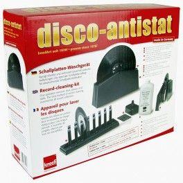 Knosti Disco Antistat Kit Máquina de Limpeza de Discos de Vinil (operação manual) - Vinyl Gourmet