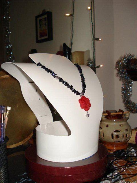 Манекены-дисплей для ожерелья своими руками - Клуб рукоделия - Страна Мам