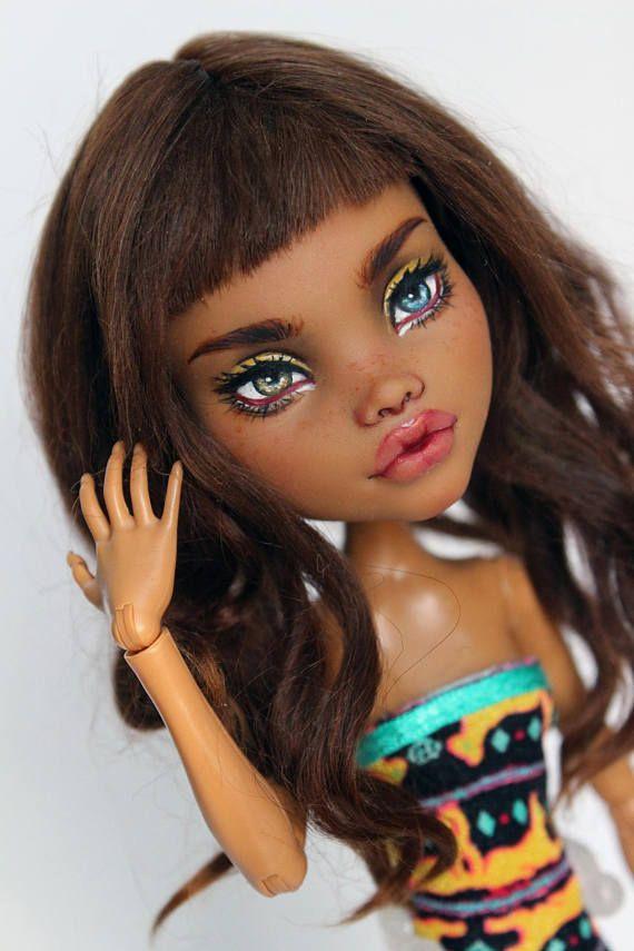 Monster High Clawdeen der OOAK custom doll