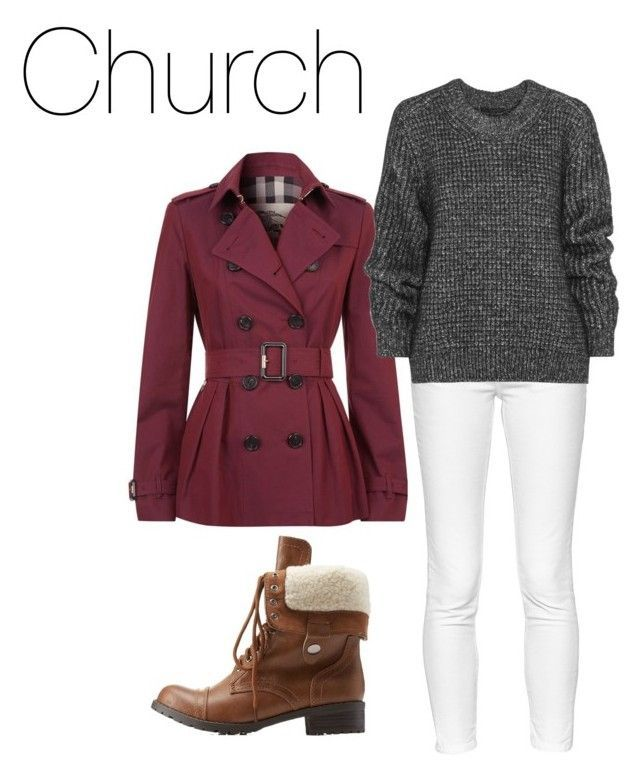Casual church outfit winter