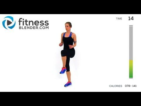 Health And Fitness: Fat Burning Cardio Workout - 37 Minute Fitness Ble...