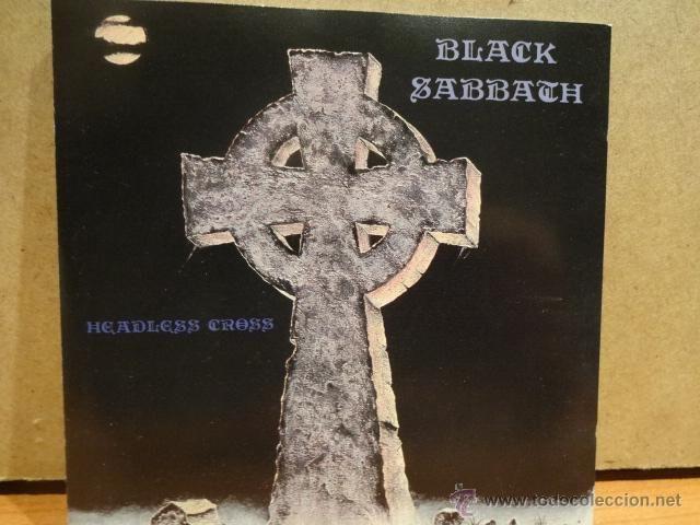 BLACK SABBATH. HEADLESS CROSS. CD / I.R.S METAL - 1989. CALIDAD LUJO.