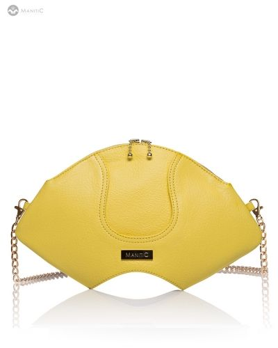 Manitic Yellow Orchid Clutch