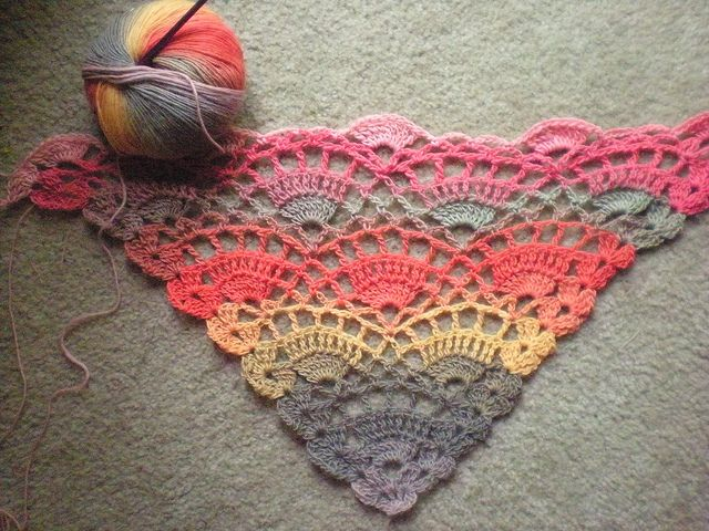 "I Love this yarn! free pattern on ravelry for this "" Festival Shawl"": Festivals, Color, Free Crochet, Crochet Shawl Patterns, Yarns, Free Patterns, Crochet Patterns, Crochet Knits, Crochet Scarfs"