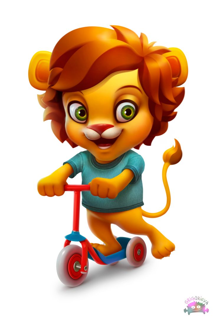 Little leon character