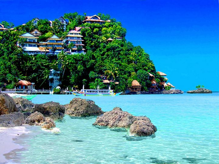 Boracay Philippines  This is one of those beaches which will even the adventurous ones make lazy. You will wish to settle down on this beach.