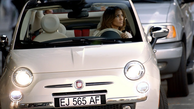 3. Fiat's first marketing campaign, in 2011, was with Jennifer Lopez as the celebrity endorser. In the commercial, she was driving through the Bronx in her Fiat. The commercial received some backlash because Jennifer Lopez did not film the commercial in the Bronx so there was a feeling of inauthenticity.  She also performed on the American Music Awards in a Fiat.