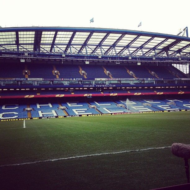 Ahead of tonights game, heres a picture from Stamford Bridge... #CFC - @Chelsea Rose FC- #webstagram