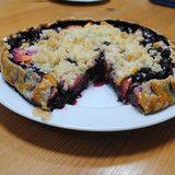 Ortensia Blu — Peach and Blueberry Crostada|Recipe|Ortensia Blu
