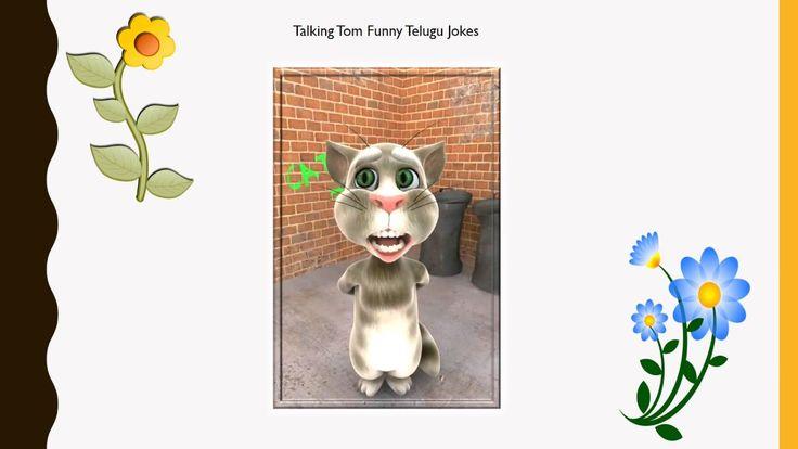Entertainment - Talking Tom Funny Telugu Jokes # 86