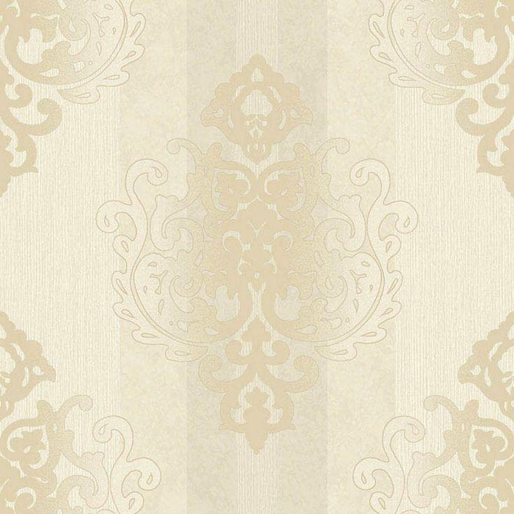 rasch tapete deha 006421 rasch textil vinyltapete ornament beige gold glitzer in heimwerker. Black Bedroom Furniture Sets. Home Design Ideas
