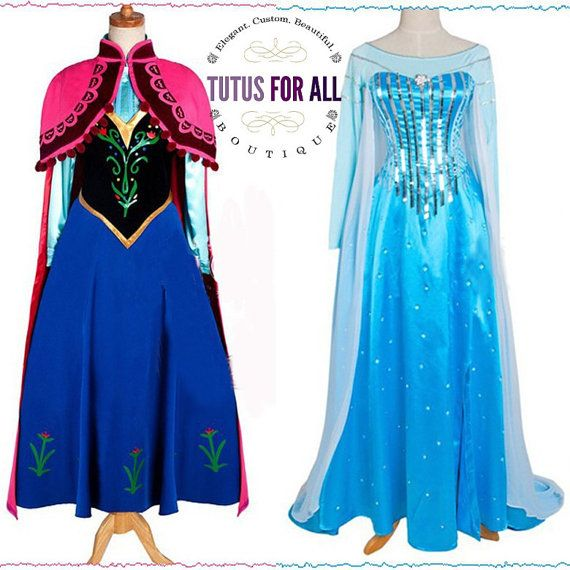 Pictures of elsa and ona dresses