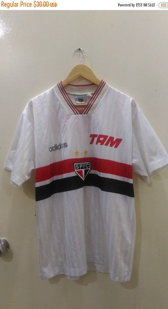 15% DISCOUNT PROMOTION Sao paulo football club jersey adidas brazil