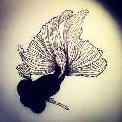Black Fish 2.0! #fish #fishtattoo #poisson #tatouagedepoissons #tattoo #tatouage #