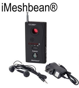 iMeshbean® New Full-frequency Anti-spy RF Signal Bug Detector It will detect a microphone with a built in in transmitter also known as a bug. It can detect radio frequency transmissions across the full spectrum of the operating frequencies used by most transmitters, including wireless phones, wifi, baby monitors, and wireless cameras.  #iMeshbean #FullfrequencyAntispyRFSignalBugDetector