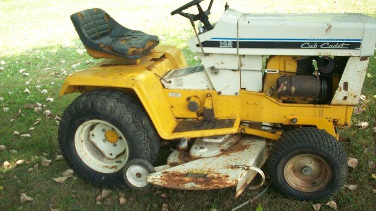 Cub Cadet 169 Garden Tractor : Ih cub cadet garden tractors with decks gardens