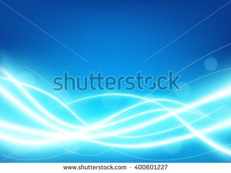 Futuristic light blue line glowing background